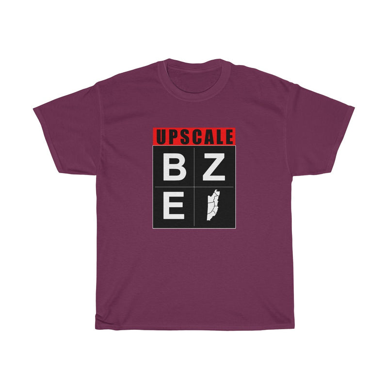 UPSCALE BELIZE - BZE black logo shirt by Reefmonkey
