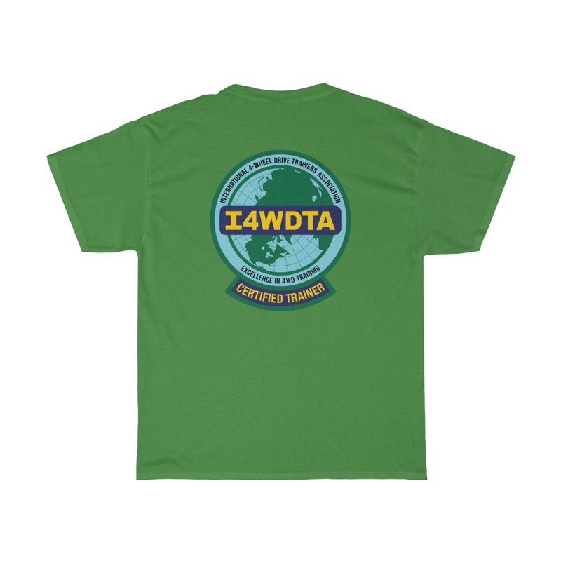 I4WDTA Classic Cotton Tee - Double Side Print Version (CERTIFIED TRAINER ONLY)