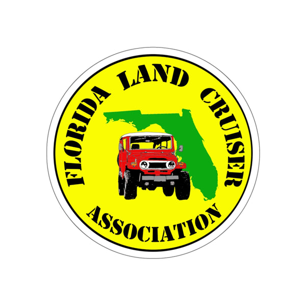 Florida Land Cruiser Association - Sticker by Reefmonkey Partner FLCA