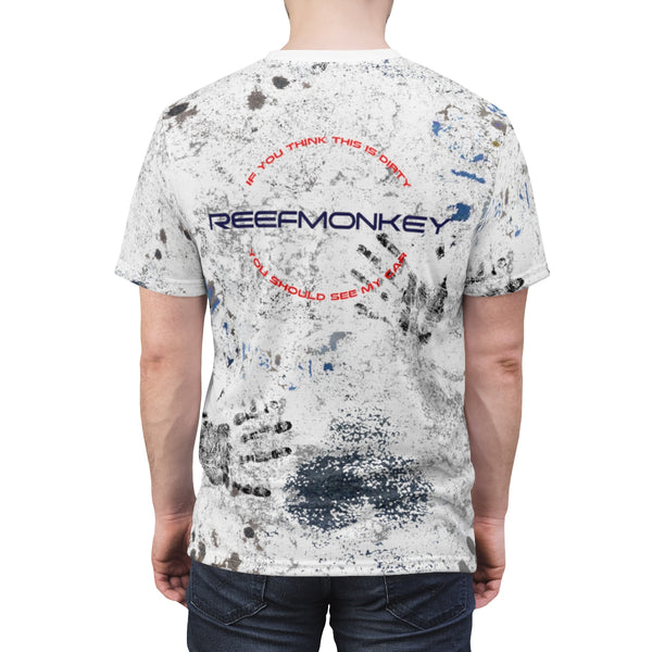 "Dirty Shirt AOP Cut & Sew Tshirt ""You should see my Car"" by Reefmonkey"