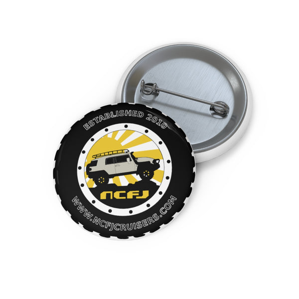 NCFJ Cruisers Pin Buttons by Reefmonkey