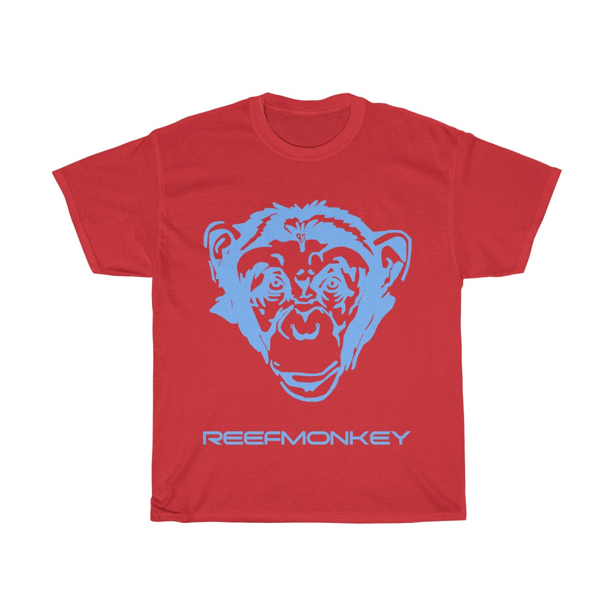 Monkey TShirt - Reefmonkey Mens Gifts Zoo Shirt Gorilla