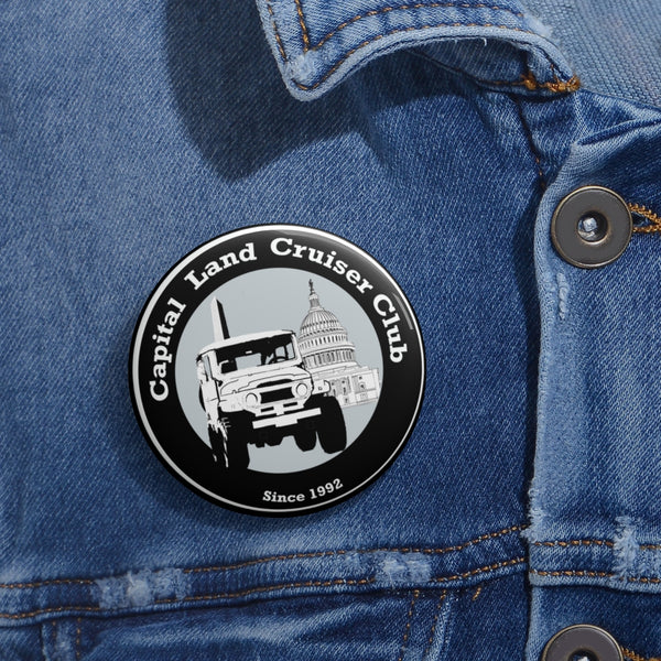 Capital Land Cruiser Club Pin Buttons