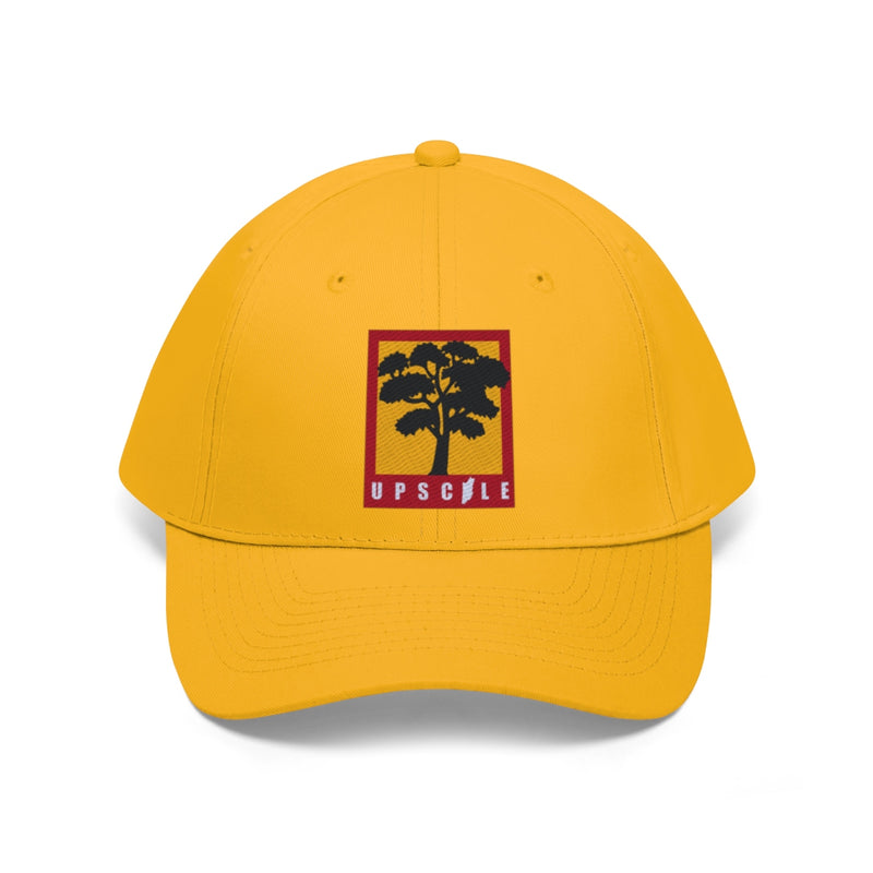 UPSCALE BELIZE - Embroidered Tree Twill Hat by Reefmonkey partner Squad Movements