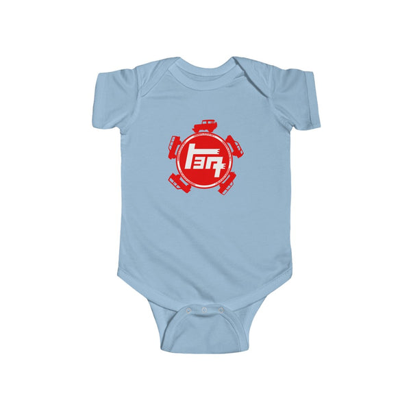 Teq Baby Bodysuit, Toyota Gift, Baby Shower Gift, New Dad Gift , Land Cruiser Gift - Reefmonkey