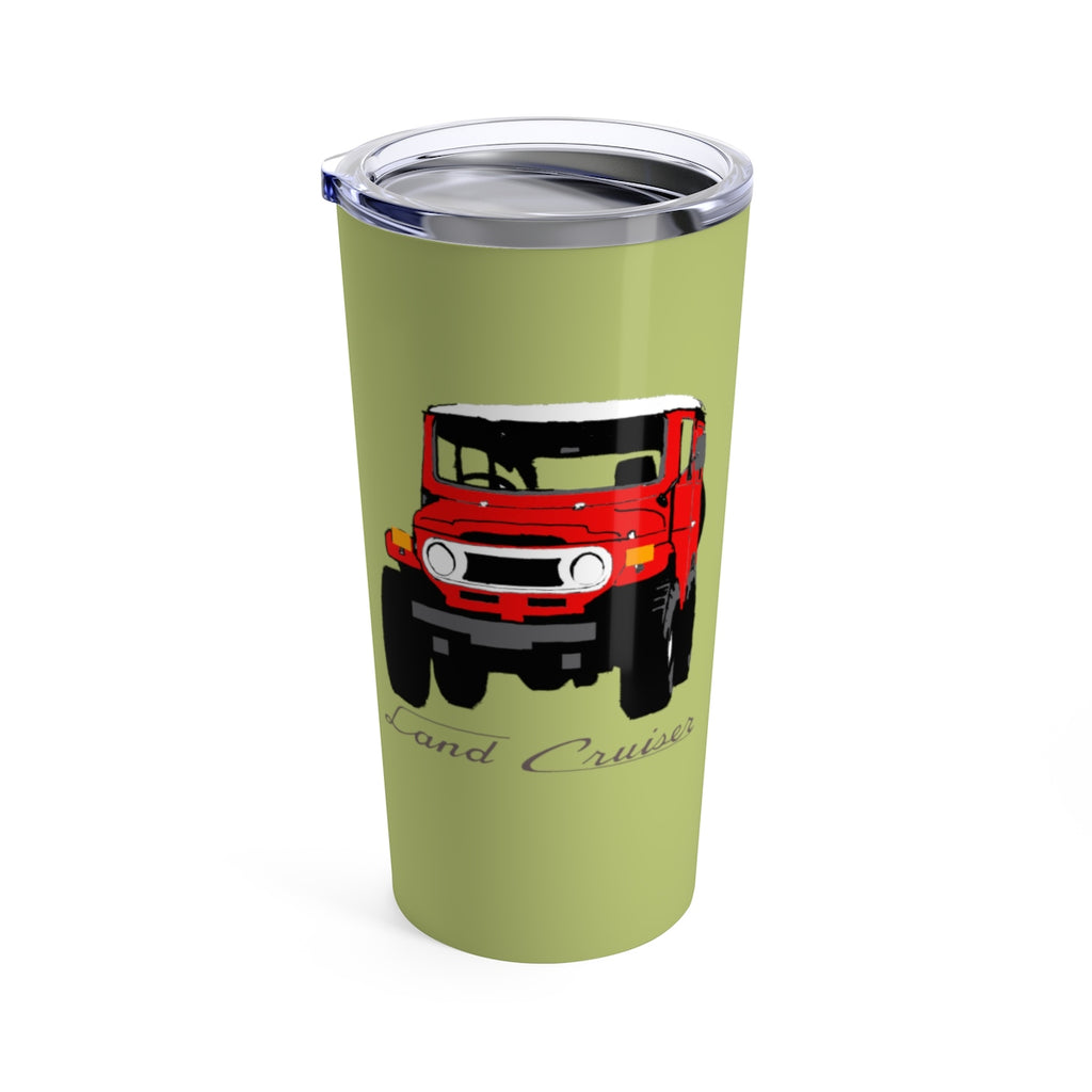 FJ40 Land Cruiser Travel Mug Tumbler by Reefmonkey