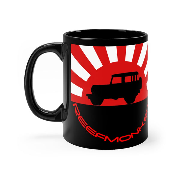 FJ40 Land Cruiser Rising Sun Coffee Mug