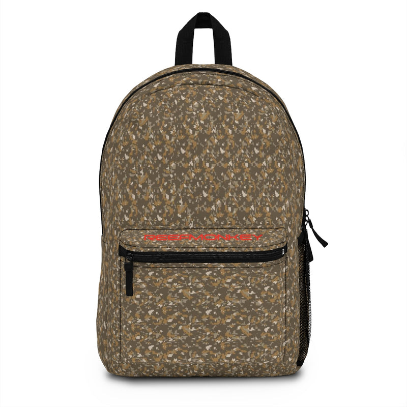 Desert Camo Backpack (Made in USA) by Reefmonkey Back to School