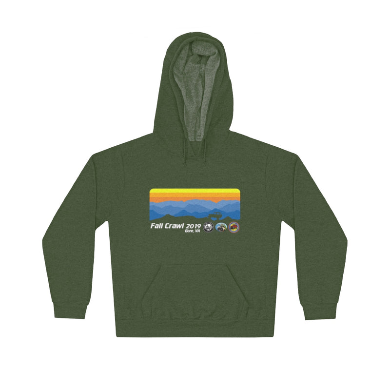 Capital Land Cruiser Club Fall Crawl 2019 - Gore, VA - Event Hoodie