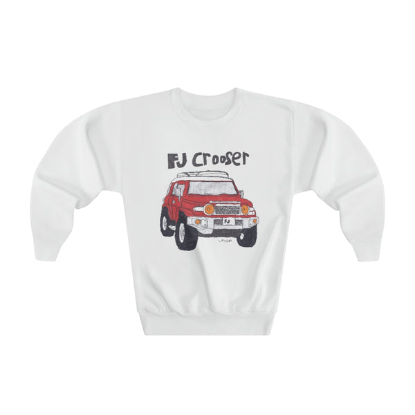FJ Crooser / FJ Cruiser Kids Art Youth Crewneck Sweatshirt