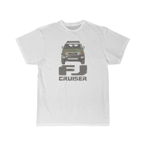 FJ Cruiser Distressed Custom Color: Army Green Short Sleeve Tshirt