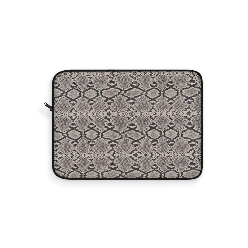 Snake Skin Laptop Sleeve by Reefmonkey