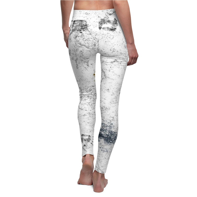Dirty Pants Women's Cut & Sew Casual Leggings