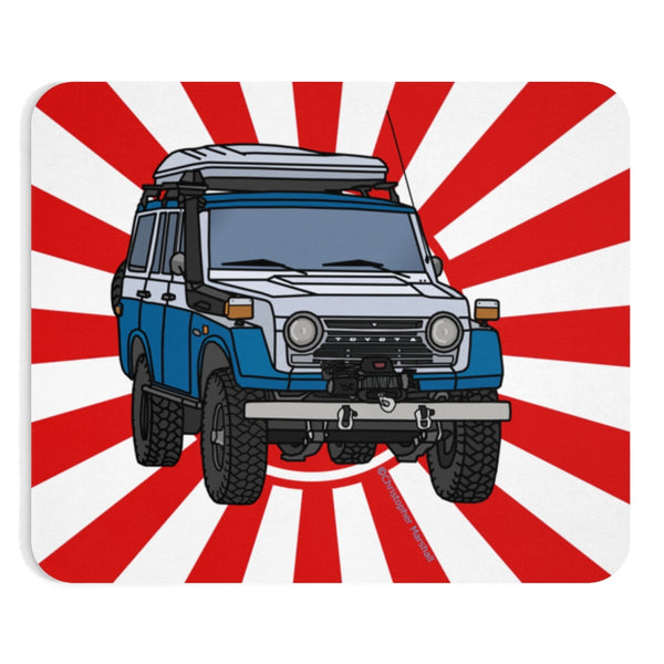 FJ55 Land Cruiser Mouse Pad by Reefmonkey Artist Christopher Marshall