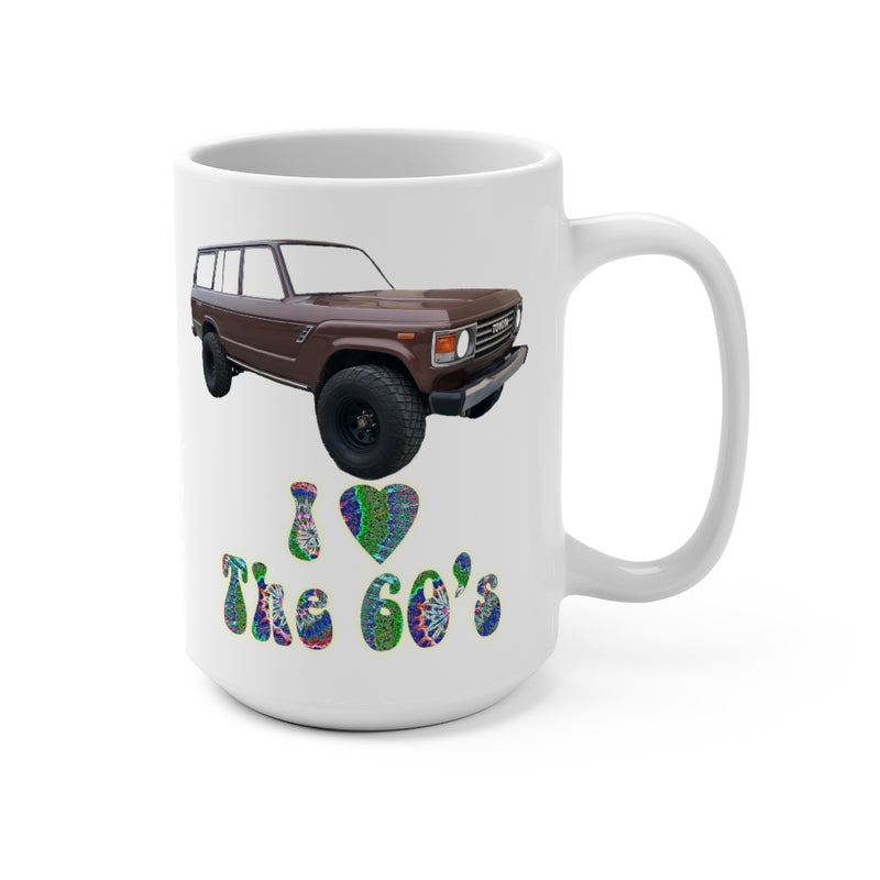 FJ60 Land Cruiser Coffee Mug 15oz by Reefmonkey