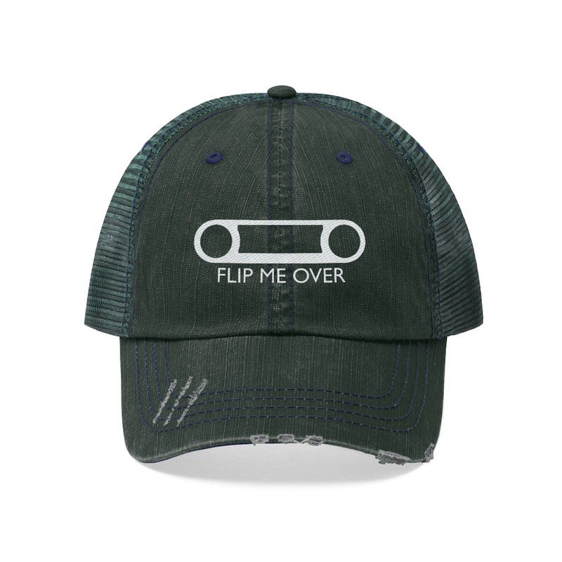 FJ40 Bezel Flip Me Over Embroidered Trucker hat Land Cruiser TEQ FJ45