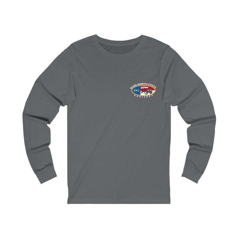 ONSC Olde North State Cruisers Land Cruiser Club Long Sleeve T shirt by Reefmonkey