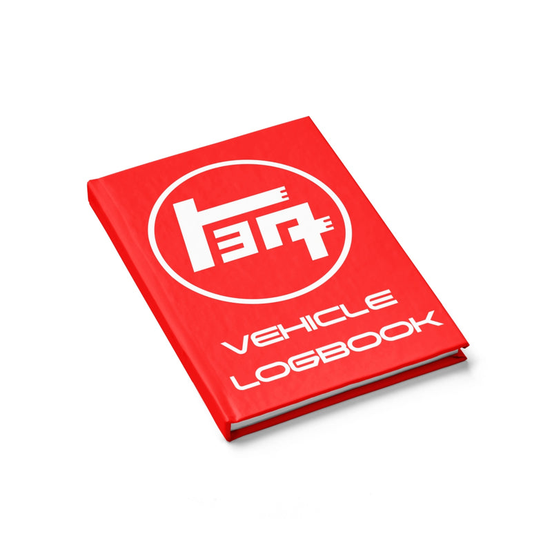 TEQ Toyota Logbook Hardcover lined Journal