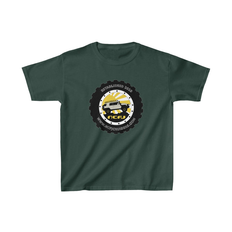 NCFJ Cruisers Kids Heavy Cotton Tshirt by Reefmonkey