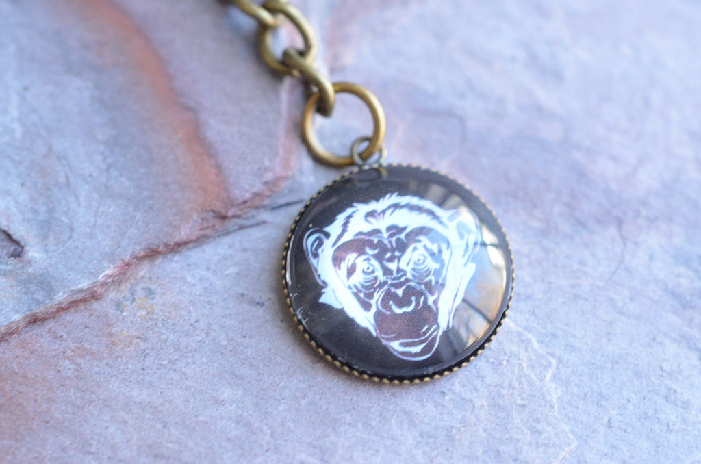 Monkey Key Chain Reefmonkey Monkey Lover Gifts