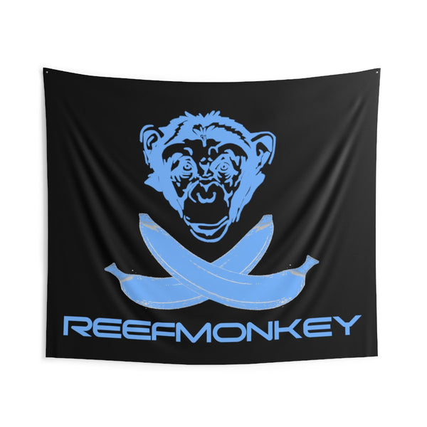 Reefmonkey Jolly Roger Monkey Pirate Wall Tapestry