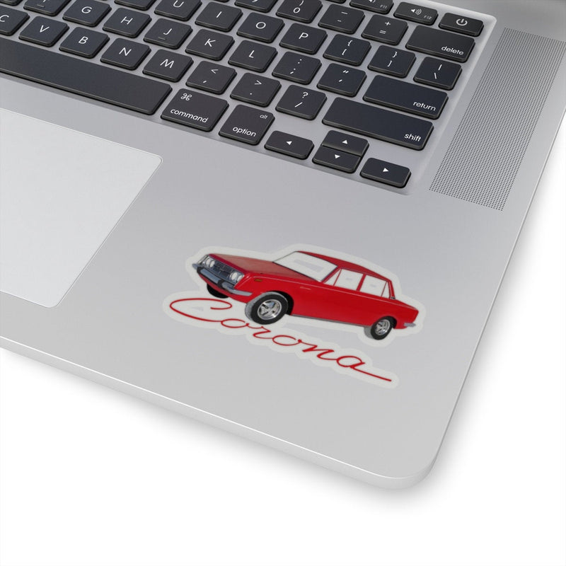 Toyota Corona Decal by Reefmonkey Toyota Sticker gift for car guys