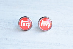 TEQ Toyota logo Cuff Links Land Cruiser FJ40  - by Reefmonkey