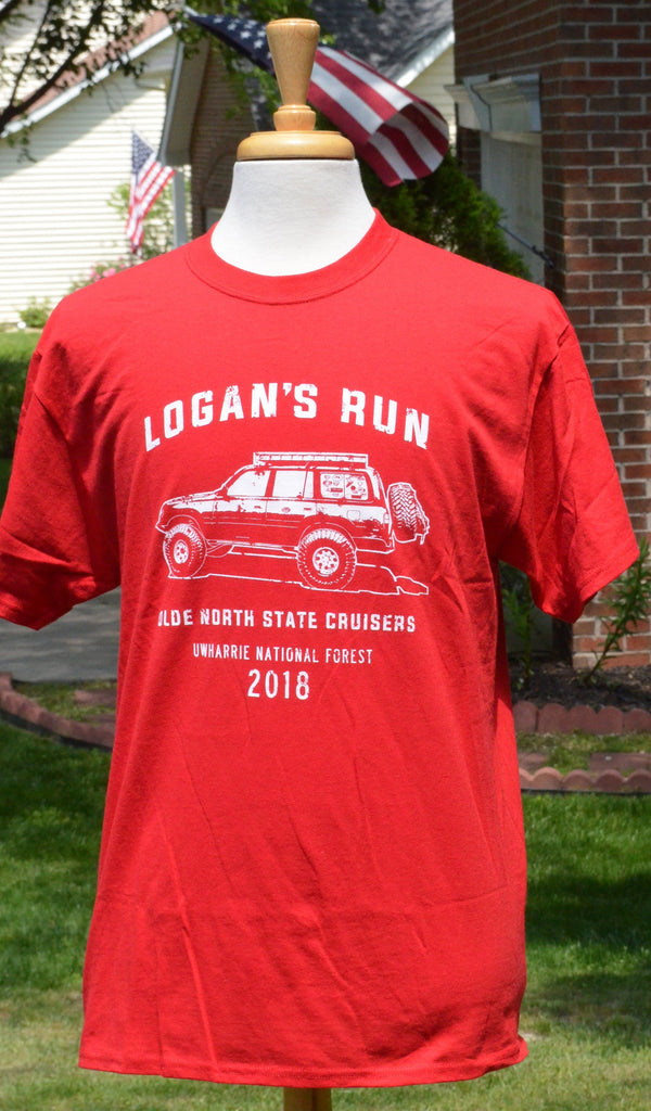 Olde North State Cruisers - Logans Run 2018 tshirt by Reefmonkey ONSC