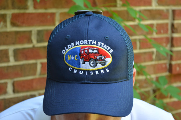 Olde North State Cruisers - Carhartt Trucker Hat by Reefmonkey ONSC