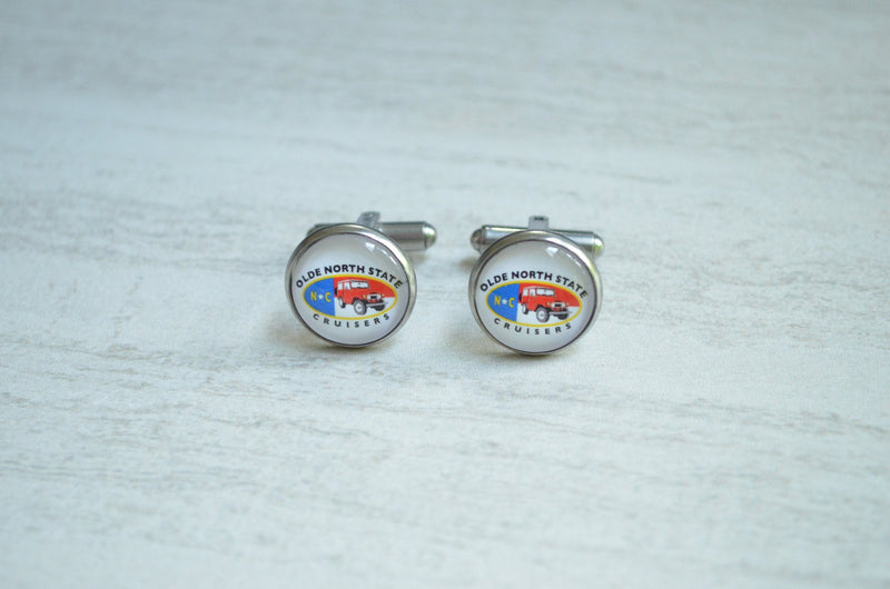 Olde North State Cruisers - Cufflinks and Earrings by Reefmonkey ONSC