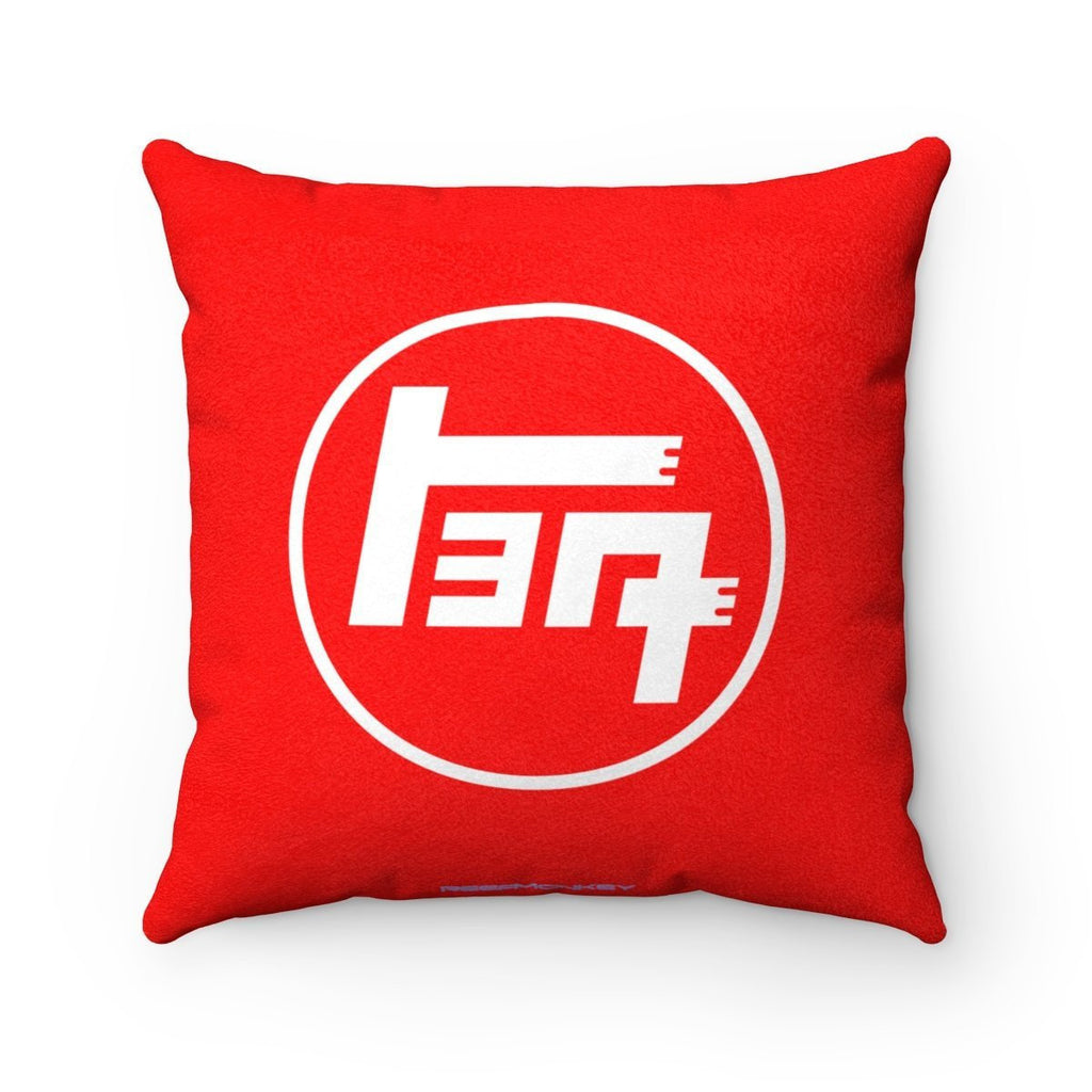Teq Toyota Pillow Luxurious Faux Suede Square Pillow By Reefmonkey PILLOW INCLUDED