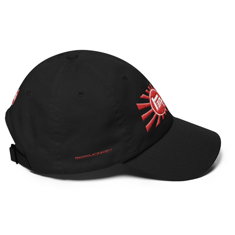TEQ Toyota Rising Sun Premium Embroidered Dad Hat by Reefmonkey