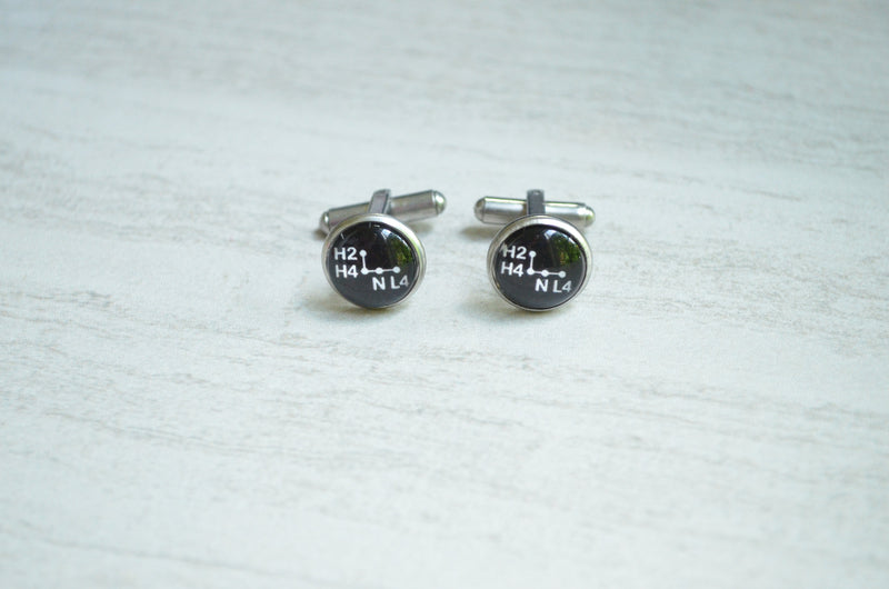 Transfer Case Shifter Cuff Links Toyota FJ40 Wedding Gifts - Reefmonkey