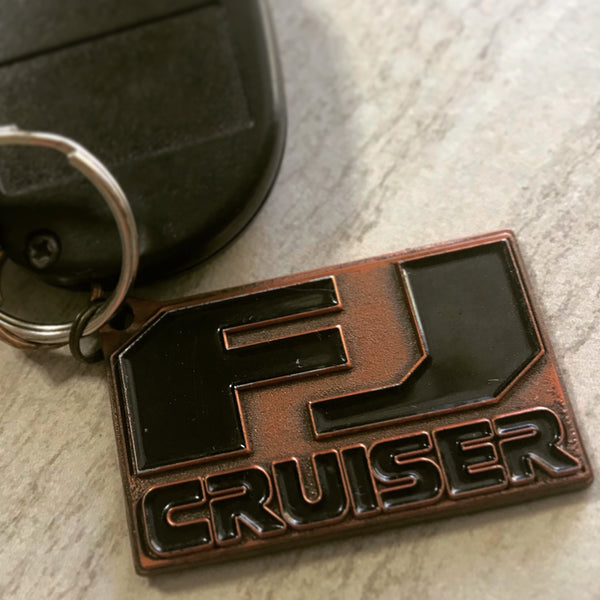 FJ Cruiser Cast Bronze Key Chain by Reefmonkey