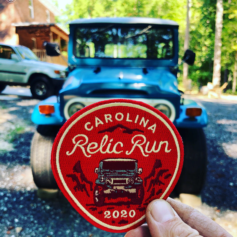 Carolina Relic Run 2020 - Morale Patch - All Proceeds Go to Charity - Olde North State Cruisers