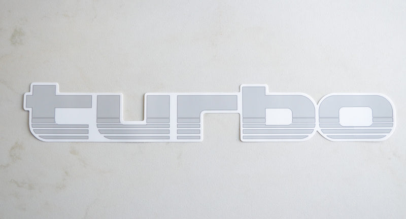 TURBO Land Cruiser Decal HUGE