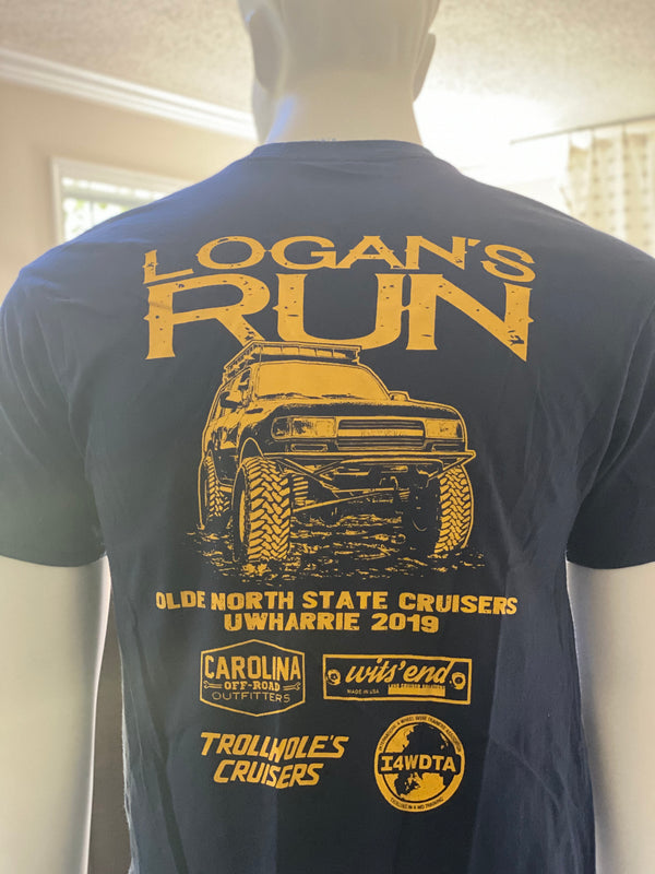 Olde North State Cruisers Logan's Run 2019 Event Shirt