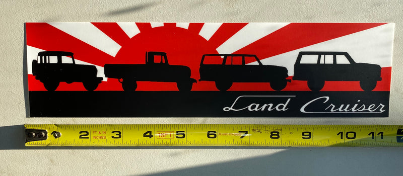 Land Cruiser Bumper Sticker