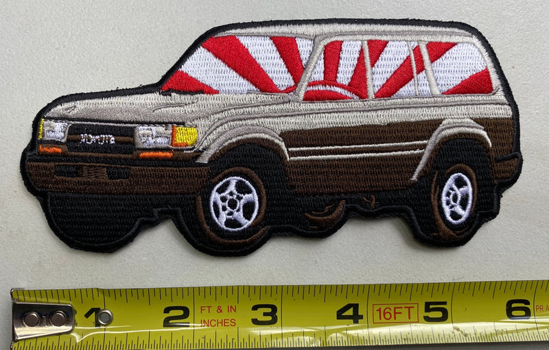 Land Cruiser 80 Series Morale Patch FJ80 FZJ80