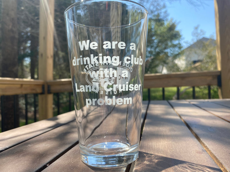 ONSC - Etched Glass Pint Glass