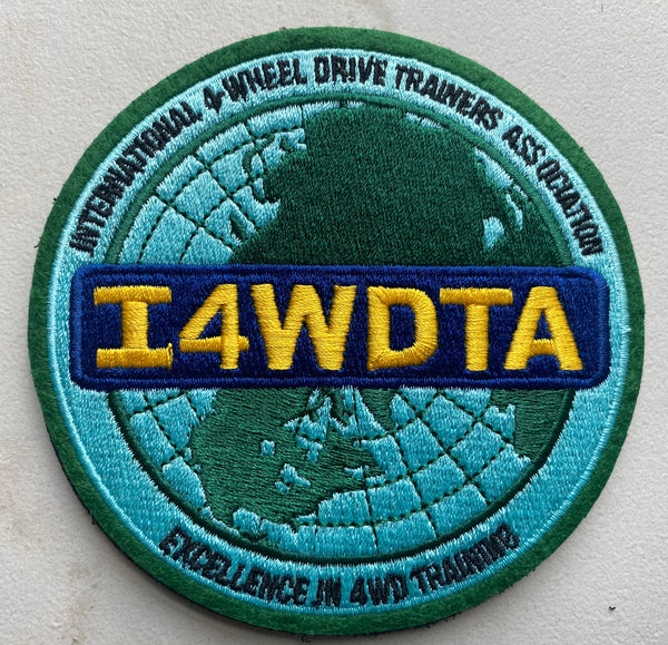 I4WDTA - Velcro Backed Embroidered Morale Patch