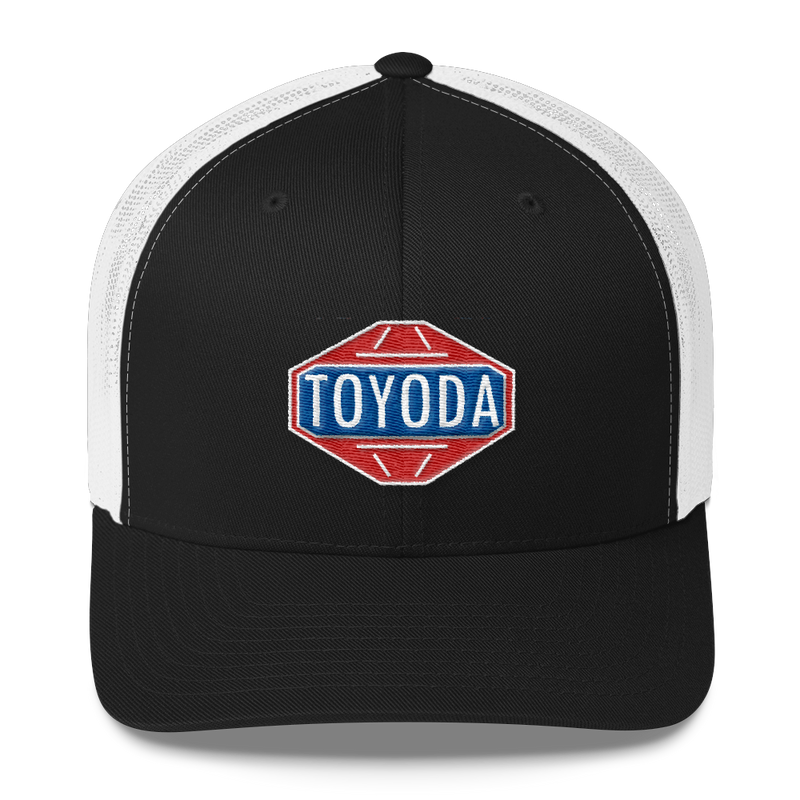 TOYODA Old School Embroidered Trucker Hat