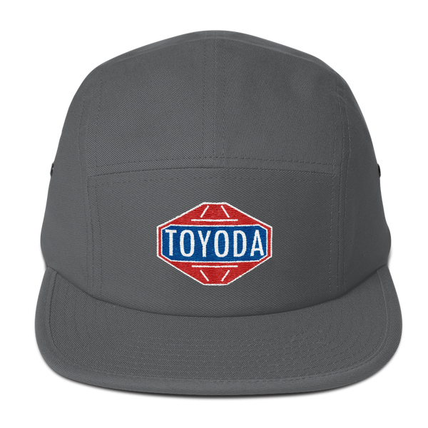 TOYODA Old School Embroidered 5 Panel Camper Hat