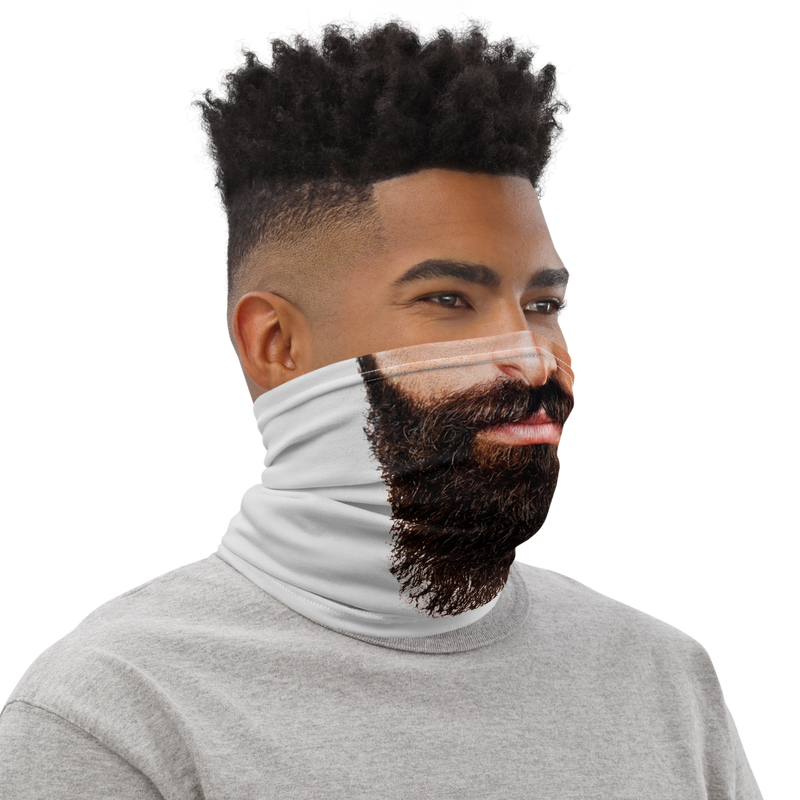 Beard Face Mask - Neck Gaiter (CUSTOM ALSO AVAILABLE)