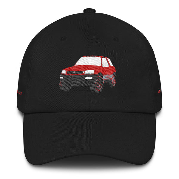 Toyota RAV4 Premium Embroidered Dad Hat by Reefmonkey
