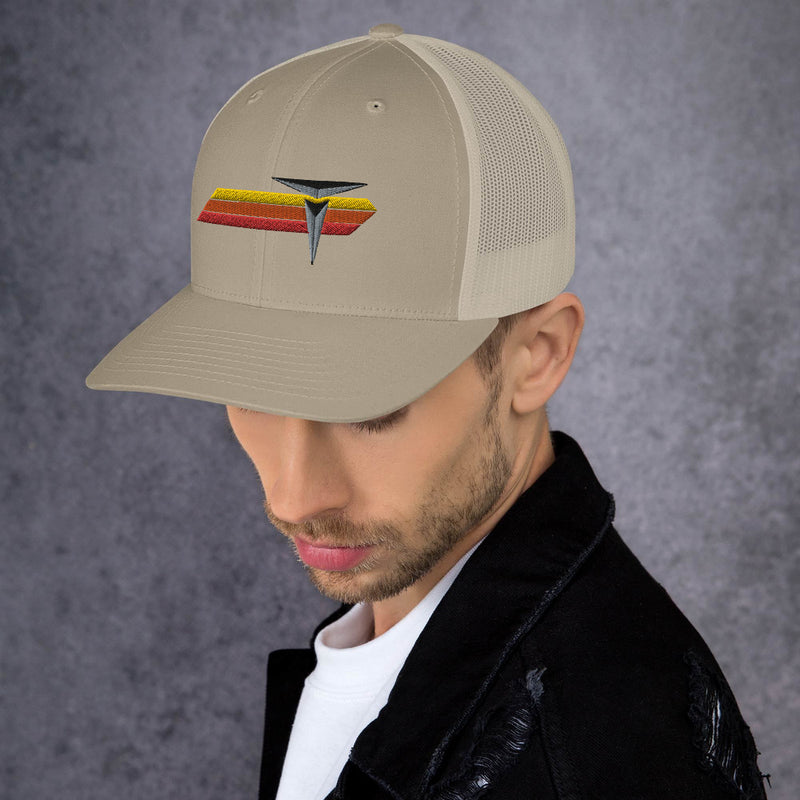 Ivan T Toyota Mid Profile Trucker Hat Embroidered Hat