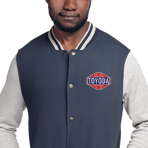 TOYODA Embroidered Champion Bomber Jacket