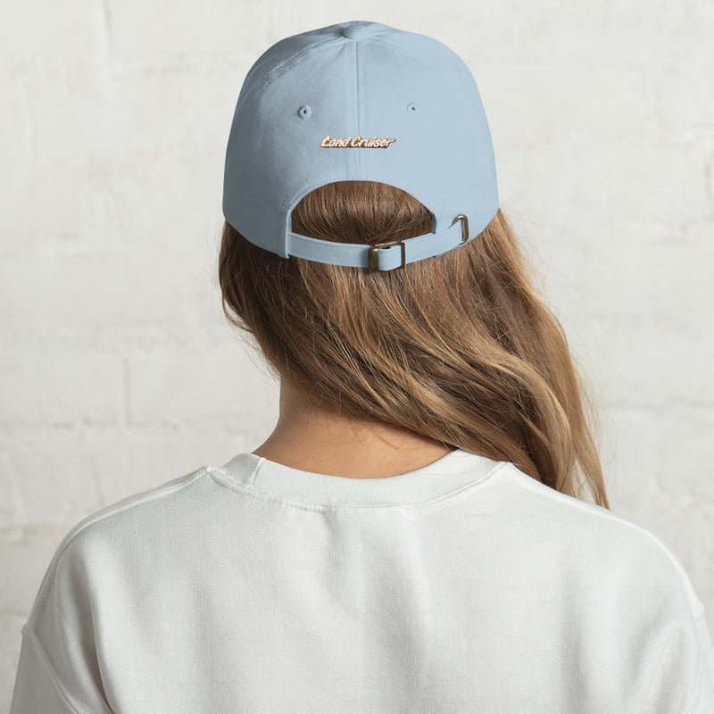 FJ40 Premium Embroidered Dad Hat Artist Brody Ploude design by Reefmonkey