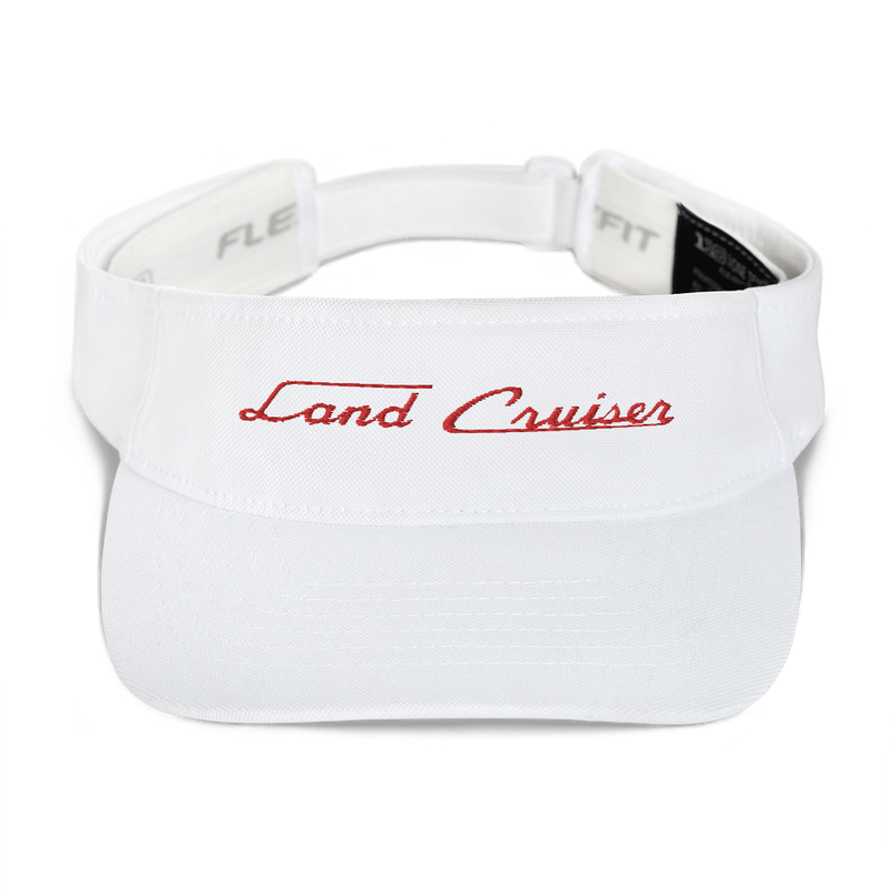 Toyota Land Cruiser Embroidered Visor Hat Land Cruiser Script Style Hat