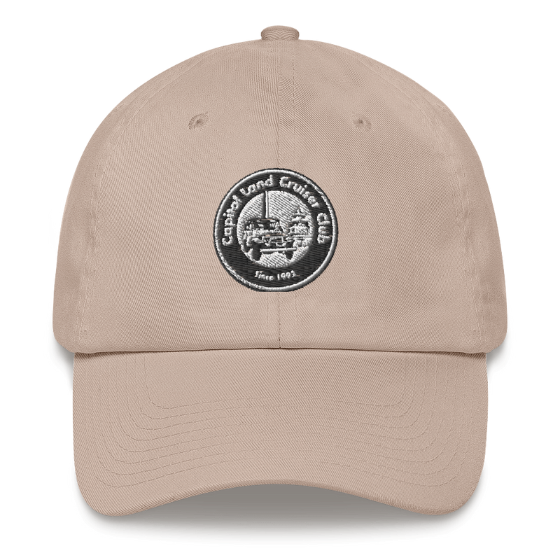 Capital Land Cruiser Chino Embroidered Dad Hat